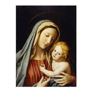 Giovanni Battista Salvi   The Madonna And Child Giclee