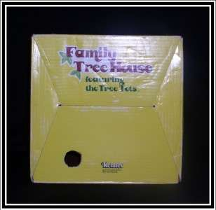 VINTAGE KENNER TREE TOTS PLAY FAMILY TREE HOUSE COMPLETE STEPS, SWING