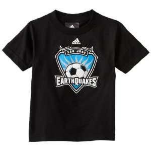 MLS San Jose Earthquakes Team Logo Short Sleeve T Shirt, 8