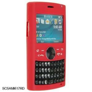 Strong Red Silicone Skin Cover Case Phone Protector for