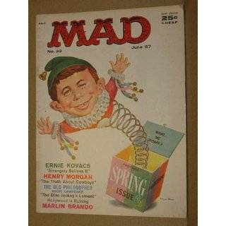 Mad Magazine, No. 33, June 1957 (No. 33) by Alfred E. Newman