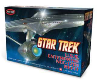 Polar Lights Star Trek USS Enterprise NCC 1701 POL820