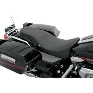 Drag Specialties Red Stitch Spoon Style Motorcycle Seat