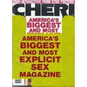 Cheri Magazine August 2002 Cheri Books