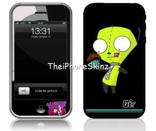 New Apple iPhone 3G 3GS Invader Zim Vinyl Skin Sticker