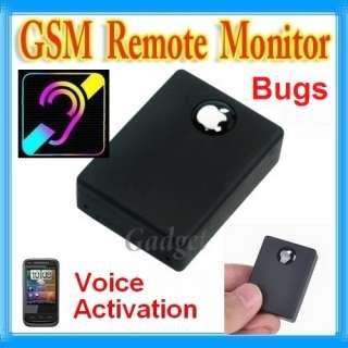 Micro Spy GSM Listening Audio Bug Surveillance Device (with Dail back