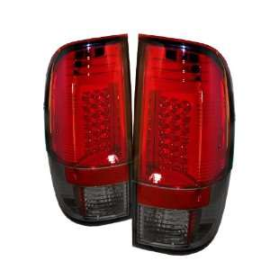 Ford Super Duty / F250 Led Taillights/ Tail Lights/ Lamps   Red Smoke