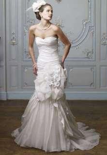 Sexy Taffeta Organza Mermaid Bridal Wedding Dress Gown