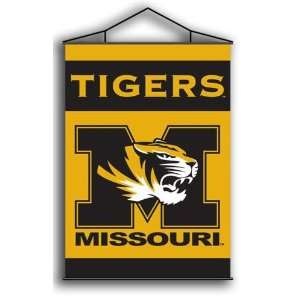 NIB Missouri Tigers MIZZOU MU Indoor Banner Flag Scroll