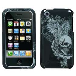 Apple iPhone 3G/3GS Skull Wing Deluxe Protector Case