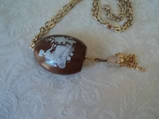 Lord Nelson Pottery Pomander Jewelry Pendant Staffordshire England