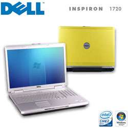 Dell Inspiron 1720 1.5 GHz Yellow Laptop Computer (Refurbished