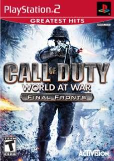PS2   Call of Duty World at War