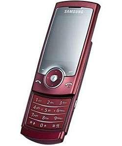 Samsung SGH U600 Red Unlocked GSM Cell Phone