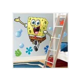 Room Mates Nickelodeon SpongeBob SquarePants Giant Peel and Stick Wall