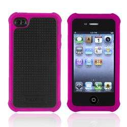 Ballistic Apple iPhone 4/ 4S Black/ Hot Pink Shell Gel Case
