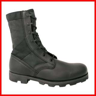 MENS ALTAMA BLACK 8 DOMESTIC VULCANIZED BOOTS (military army combat