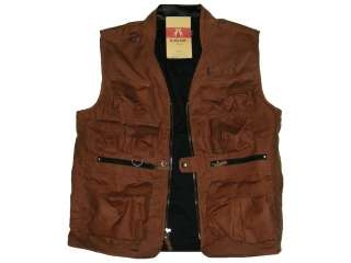 KAKADU Barra Vest Conceal Carry   Brown Multi   Pockets camping