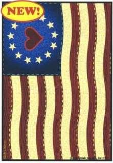BETSY ROSS FLAG SMALL DECORATIVE GARDEN FLAG YARD ART