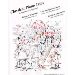Classical Piano Trios for Beginners (Pejtsik, ZemplTni
