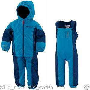 115 Columbia Phoom Shoom Baby Boy Infant Ski Snow Jacket Overall
