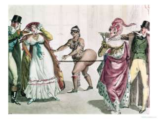The Hottentot Venus in the Salon of the Duchess of Berry, 1830 Giclee
