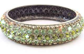 AuStRiAn CrYsTaL RhInEsToNe MetaL BaNgLe BRaceLet