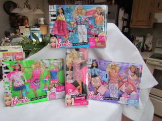 Barbie Fashionistas Swappin Styles Doll with 3 Sets of Outfits All New