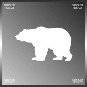 Bear Silhouette Animal Design Vinyl Decal Bumper Sticker 3