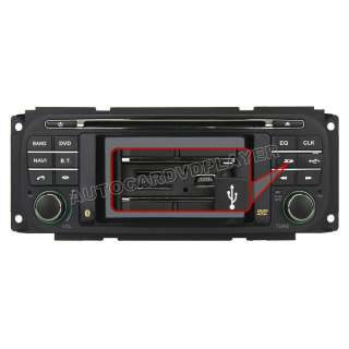 Jeep Grand Cherokee Dodge Chrysler DVD Player with in dash Navigation