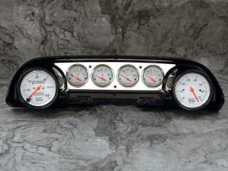 63 64 Ford Galaxie Aluminum Dash Insert Panel w/ Auto Meter Arctic