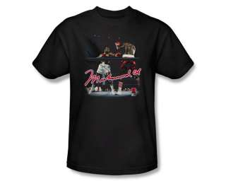 Muhammad Ali Ring Master Signature Boxing Legend T Shirt Tee