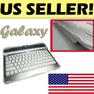 Aluminum Case Cover Wireless Bluetooth Keyboard for Samsung Galaxy