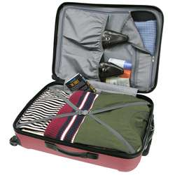 Travelers Choice Freedom 3 piece Hardside Spinner Luggage Set