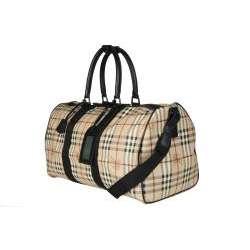 Burberry Womens Haymarket Weekender Bag  Overstock