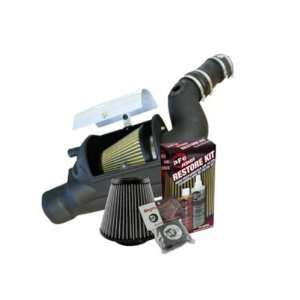 03 07 Ford 6.0L aFe MagnumForce Stage 2 Si Air Intake System PG7 w