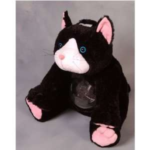 Large Cat Plush Coin Bank Toys & Games