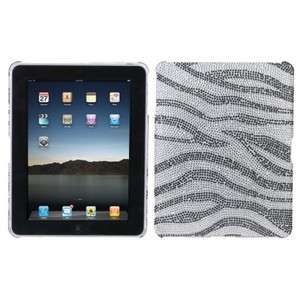 Crystal Diamond Bling Case Cover Backplate for Apple iPad 1