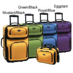 Traveler RIO 2 piece Expandable Carry on Luggage Set