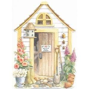 Retirement Greeting Card   Gardening Shed: Health