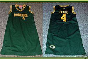 Green Bay Packers Girls Womens Favre Dress S Skirt NFL