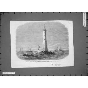 Sir Frederick Arrow Wolf Rock Lighthouse Lands End