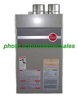 NEW Rheem 7.4 GPM Tankless Water Heater Direct Vent Propane PTG/RTG