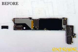 iPhone 4 Logic Board Battery Terminal Repair Service |