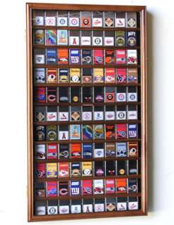 90 Zippo Lighter Display Rack Case Cabinet Wood Door