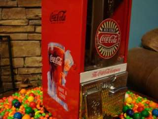 Toy N Joy *COCA COLA* Gumball Candy Vending Machine COKE Signs