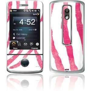 Pink Zebra skin for HTC Touch Pro (Sprint / CDMA) Electronics