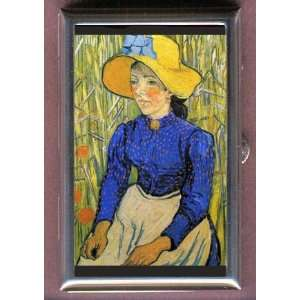 VINCENT VAN GOGH PEASANT GIRL HAT COIN, MINT OR PILL BOX