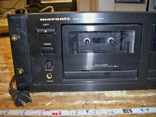 Marantz PMD 501U Professional Stereo Cassette Deck