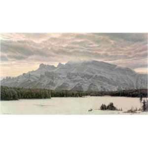 Robert Bateman   The Awesome Land American Elk: Home